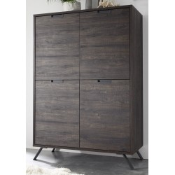 Parma II-wenge highboard
