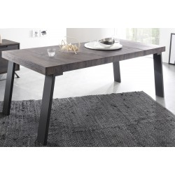 Parma II-wenge dinning table with steel legs