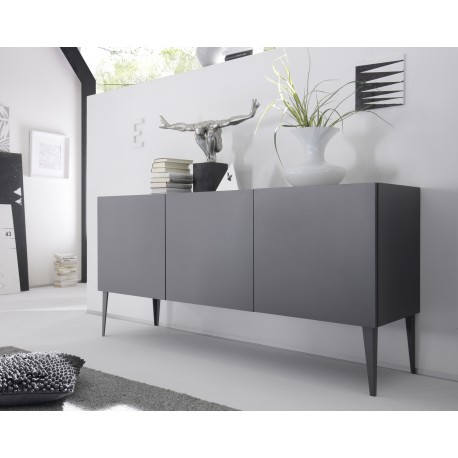 best sneakers 700b8 76cee Livia - grey or white matt lacquered sideboard