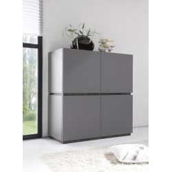 Livia III - large matt lacquered storage cabinet
