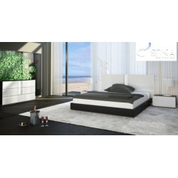 Ika - lacquered luxury bed