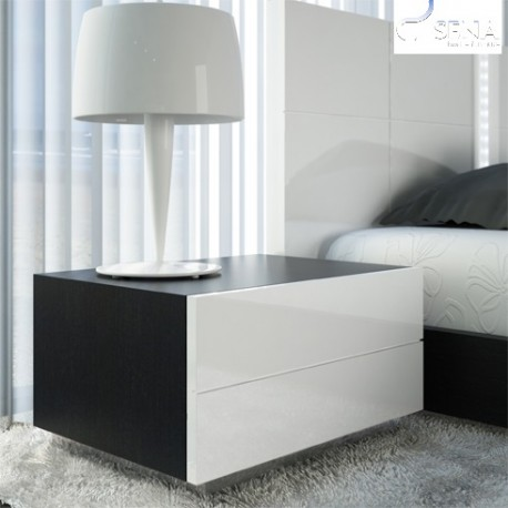 Ika- high gloss bedside cabinet