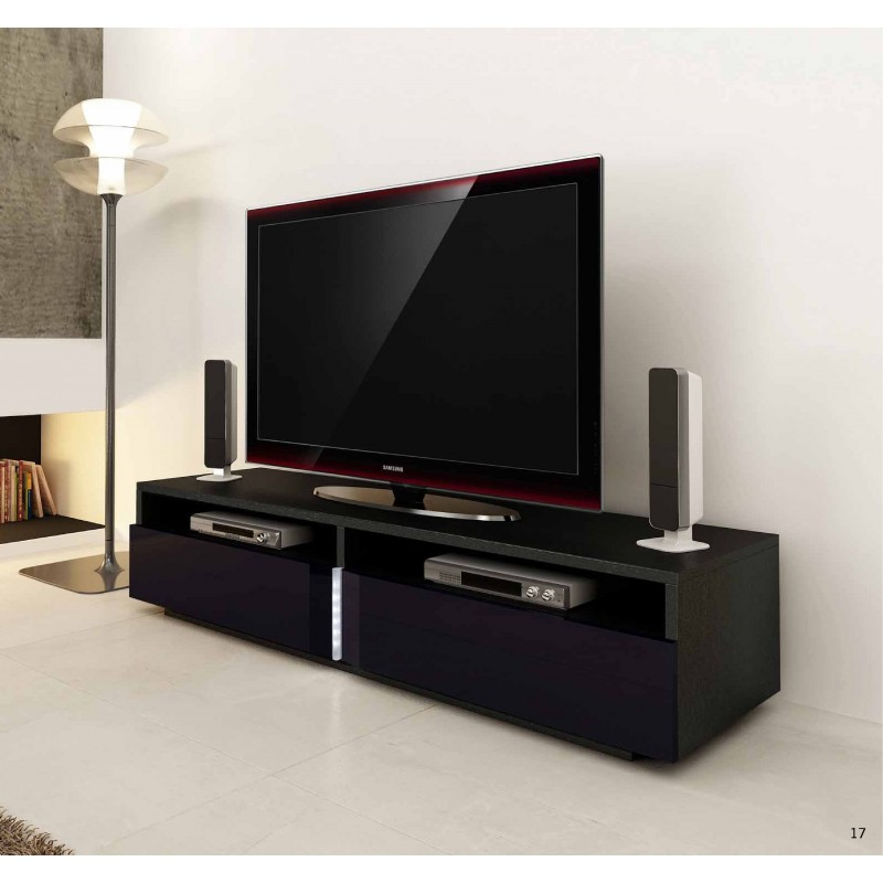 Ika Luxury Tv Unit With Led Lights Tv Stands 1856
