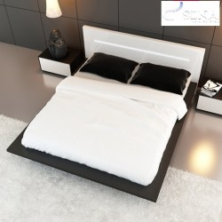 Ecta lacquered luxury bed