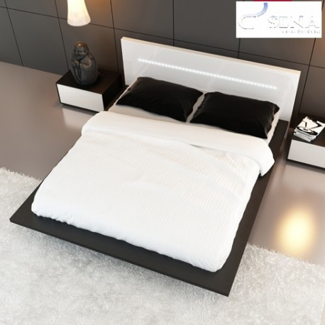 Ecta - lacquered luxury bed