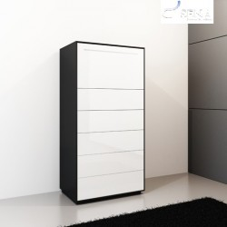 Ecta II -luxury high chest of drawer