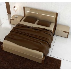 Lua lacquered luxury bed