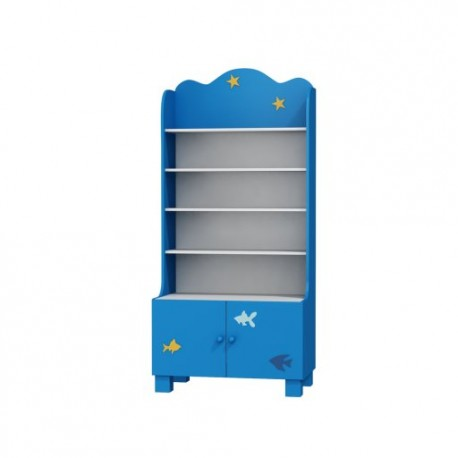 Boat - wide bookcase