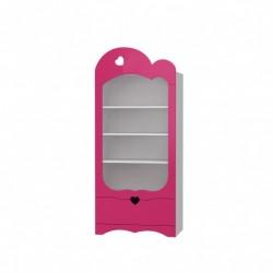 Romantic - wide bookcase