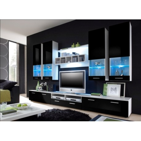 Dona wall set - white & black