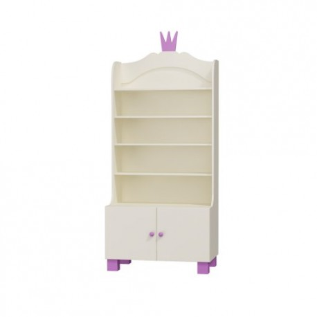 Princess - wide bookcase