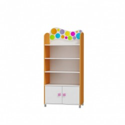 RAINBOW RANGE - WIDE BOOKCASE