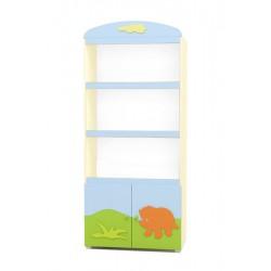 Dinosaur - wide bookcase