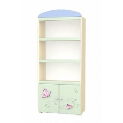Secret Garden - wide bookcase