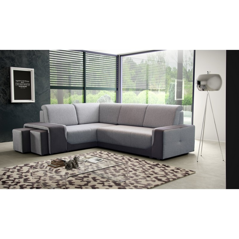Ares small corner sofa bed sofas sena home furniture Corner couch with sofa bed