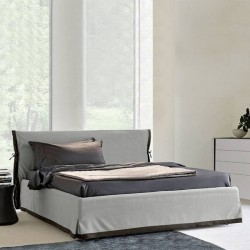 Piano - Modern Italian upholstered bed-various colours and finishes