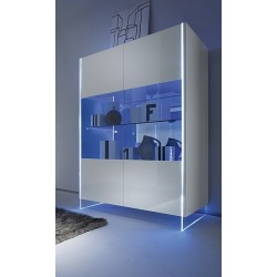 Lumio  - display cabinet with LED lights ex display