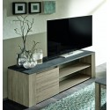- Small oak TV unit with marmor top imitation