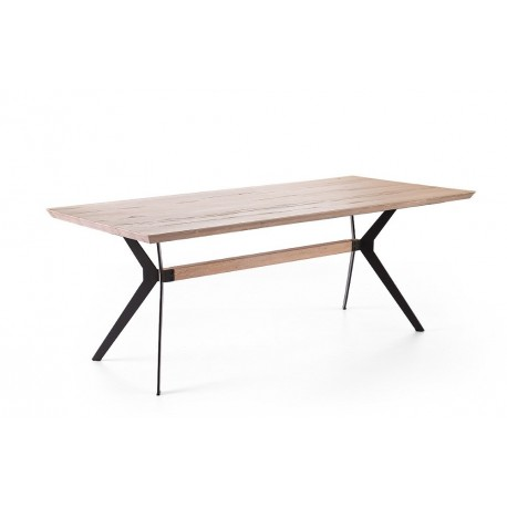 Ordo- solid wood extendable dining table