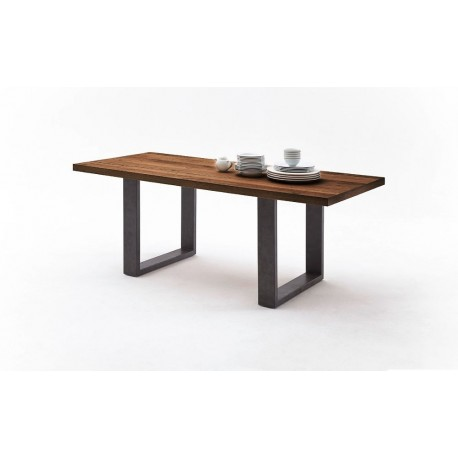 Andy U - solid wood extendable dining table