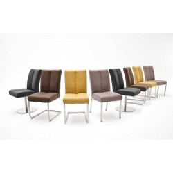 Caro A - dining chair with various base options