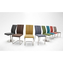 Fallo C - dining chair with various base options