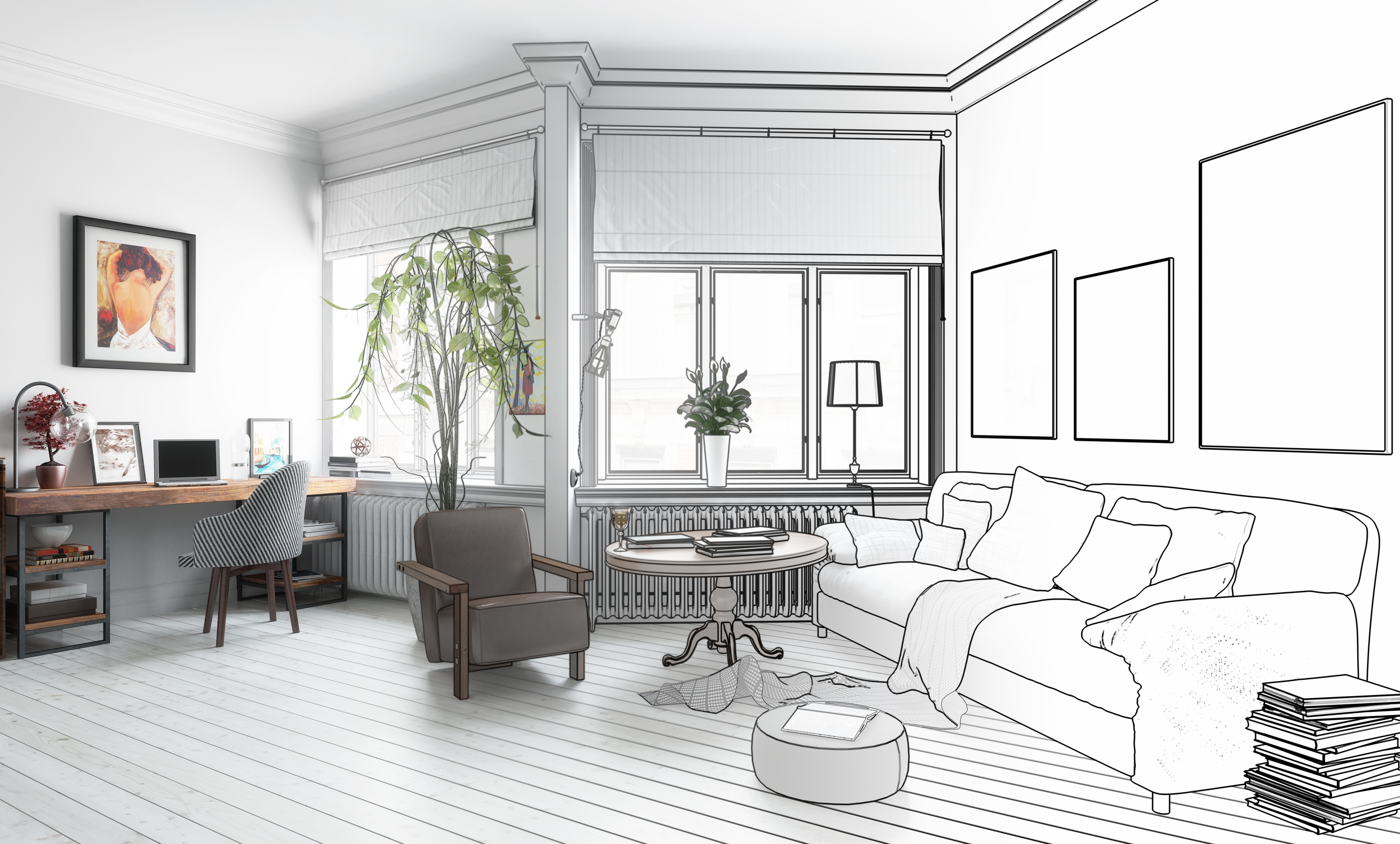 Are you planning some changes in the arrangement of the flat? Check hot trends in 2018.