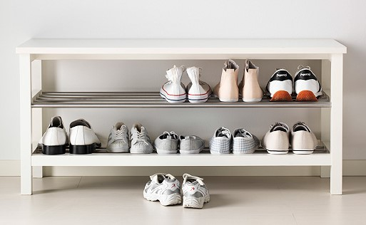 Creative ways to store your winter shoes in the summer