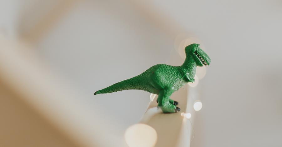 a toy story t-rex dinosaur