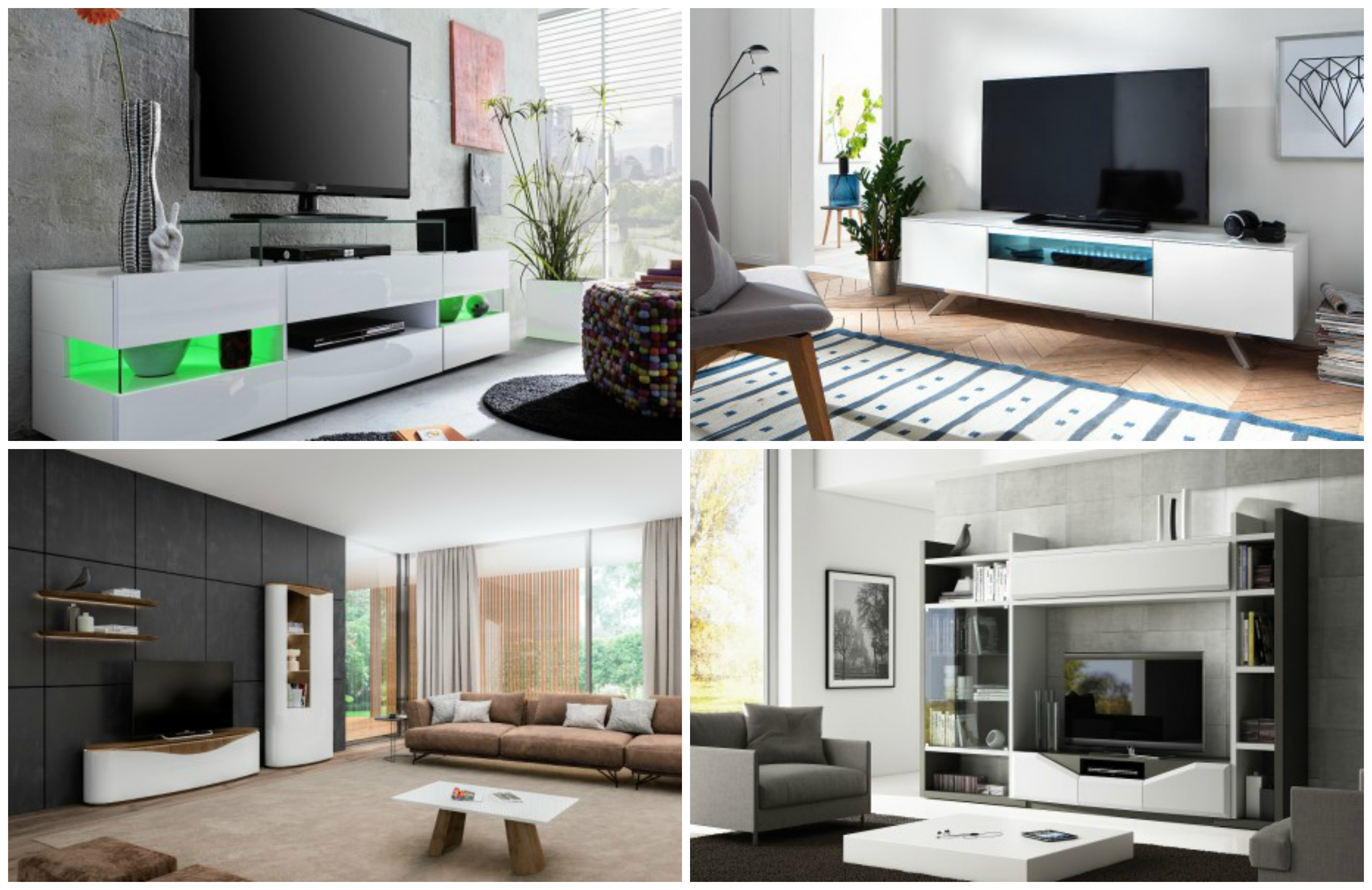 How To Choose A Modern Tv Stand Sena Home Furniture # Meuble Tv Karma